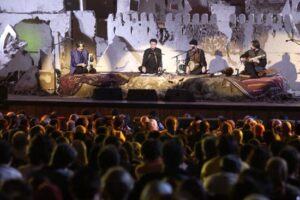 کنسرت شجریان در شهر بم ارگ قدیم