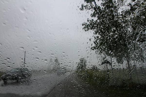 هواشناسی استان کرمان باران