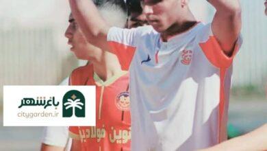 عکس ابوالفصل شاهکی نیا فوتبالیست ریگانی مس ذوب آهن