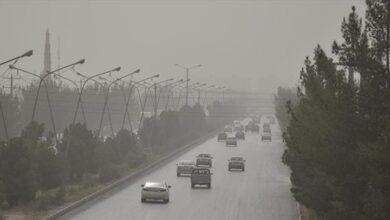 عکس هواشناسی هفته اول آبان بم شرق استان کرمان