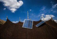 پنل سامانه خورشیدی عشایر بم