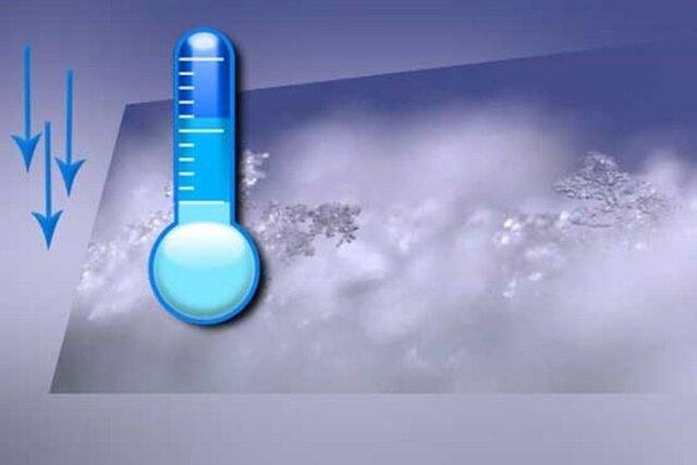 پیش بینی هوای سرد بادوخاک سایت باغشهر بم